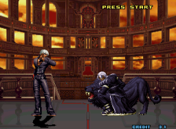 The King Of Fighters 2001 (MVS)  © SNK 2001   2/9