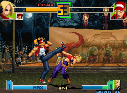 The King Of Fighters 2001 (MVS)  © SNK 2001   3/9