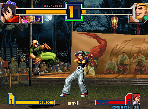 The King Of Fighters 2001 (MVS)  © SNK 2001   4/9
