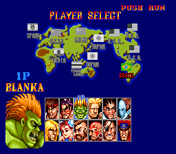 Street Fighter II': Champion Edition (PCE)  © Interchannel 1993   2/4