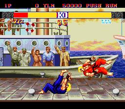 Street Fighter II': Champion Edition (PCE)  © Interchannel 1993   3/4