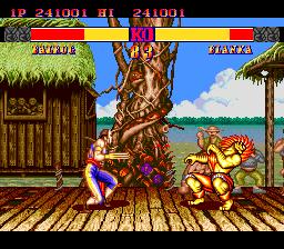 Street Fighter II': Champion Edition (PCE)  © Interchannel 1993   4/4