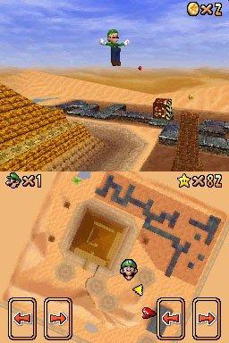 Super Mario 64 DS (NDS)  © Nintendo 2004   3/6