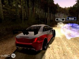 WRC 4 (PS2)  © Sony 2004   3/3