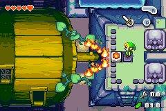 The Legend Of Zelda: The Minish Cap (GBA)  © Nintendo 2004   8/8