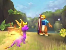 Spyro: A Hero's Tail (PS2)  © VU Games 2004   2/6