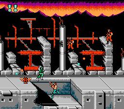 Super C (NES)  © Konami 1990   2/9