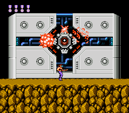 Super C (NES)  © Konami 1990   5/9