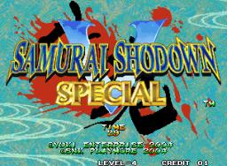 Samurai Shodown V Special (MVS)  © SNK Playmore 2004   1/9