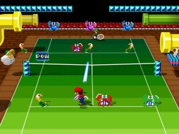 Mario Power Tennis (GCN)  © Nintendo 2004   3/5