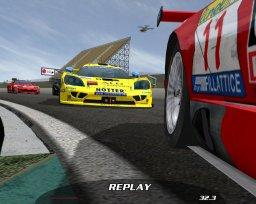 GTR FIA GT Racing Game (PC)  © Atari 2005   2/3