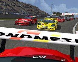 GTR FIA GT Racing Game (PC)  © Atari 2005   3/3