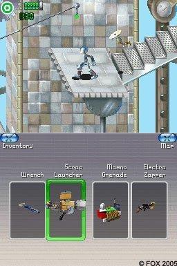 Robots (NDS)  © VU Games 2005   1/3
