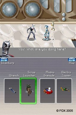 Robots (NDS)  © VU Games 2005   2/3