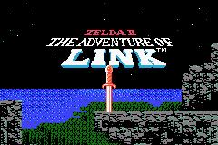 Zelda II: The Adventure Of Link (GBA)  © Nintendo 2004   1/3