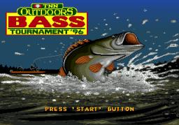 TNN Outdoors: Bass Tournament '96 (SMD)  © ASC Games 1996   1/3