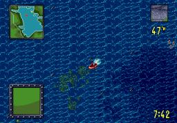 TNN Outdoors: Bass Tournament '96 (SMD)  © ASC Games 1996   3/3