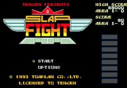 Slap Fight (SMD)  © Tengen 1993   1/3