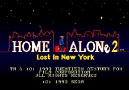 Home Alone 2: Lost In New York (SMD)  © Sega 1993   1/4