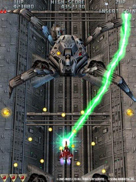 Raiden III (ARC)  © Seibu Kaihatsu 2005   8/9