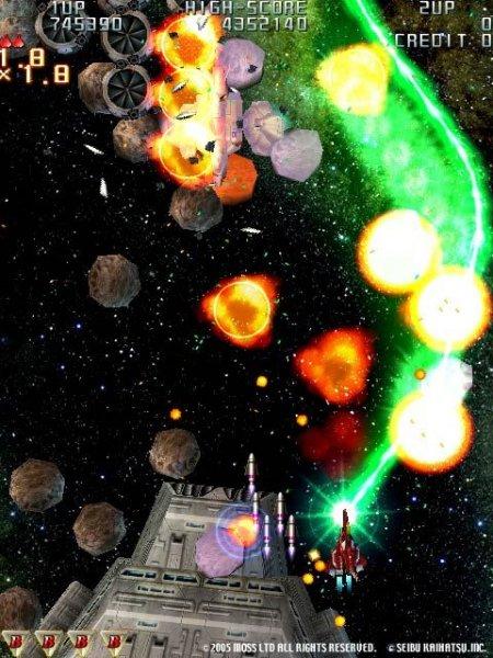 Raiden III (ARC)  © Seibu Kaihatsu 2005   9/9