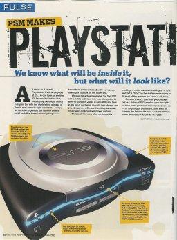 PlayStation 3 Mock-up  ©    ()  Fra PSM From PSM 2/7