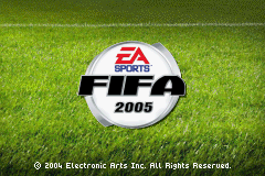 FIFA Football 2005 (GBA)   © EA 2004    1/3