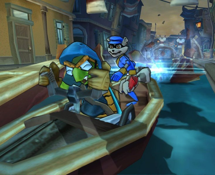 Sly 3: Honor Among Thieves (PS2)  © Sony 2005   4/6