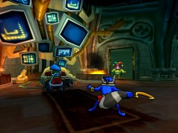 Sly 3: Honor Among Thieves (PS2)  © Sony 2005   2/6