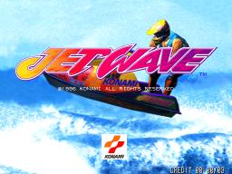 Jet Wave (ARC)  © Konami 1996   1/3