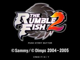 The Rumble Fish 2 (ARC)  © Sammy 2005   1/4