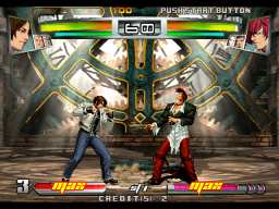 The King Of Fighters: Neowave (ARC)  © SNK 2004   2/4
