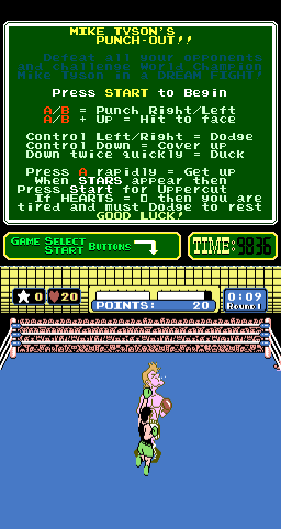 Mike Tyson's Punch-Out!! (ARC)   © Nintendo 1987    2/3