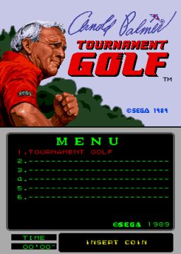 Arnold Palmer Tournament Golf (ARC)  ©     1/3
