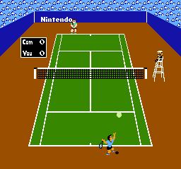 Tennis (1984) (FDS)  © Nintendo 1986   2/3