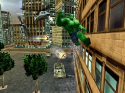 The Incredible Hulk: Ultimate Destruction (XBX)  © VU Games 2005   1/4