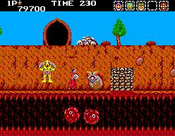 Rygar: The Legendary Warrior (SMS)  © Salio 1988   6/6