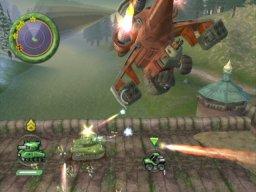 Battalion Wars (GCN)  © Nintendo 2005   3/6