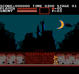 Castlevania (FDS)  © Konami 1986   2/3