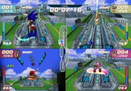 Sonic Riders (XBX)  © Sega 2006   2/3
