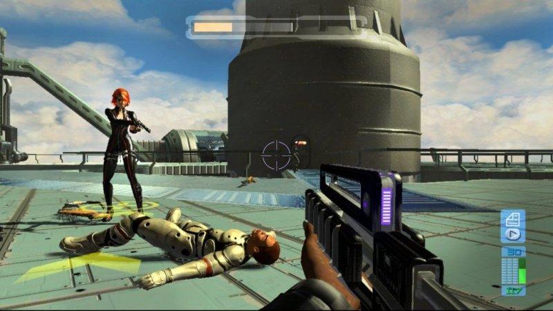 Perfect Dark Zero (X360)  © Microsoft Game Studios 2005   5/7