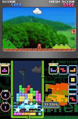 Tetris DS (NDS)  © Nintendo 2006   3/8