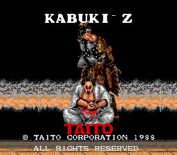 Kabuki-Z (ARC)  © Taito 1988   1/3