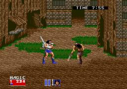 Golden Axe II (ARC)  © Sega 1991   2/5
