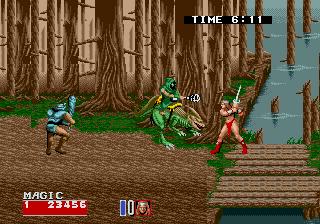 Golden Axe II (ARC)  © Sega 1991   4/5