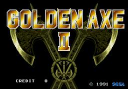 Golden Axe II (ARC)  © Sega 1991   1/5