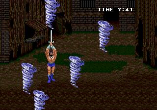 Golden Axe II (ARC)  © Sega 1991   5/5