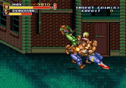 Streets Of Rage II (ARC)  © Sega 1991   2/4