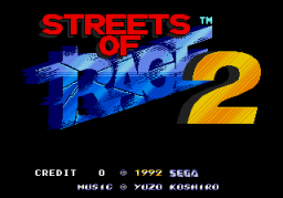 Streets Of Rage II (ARC)  © Sega 1991   1/4