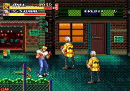 Streets Of Rage II (ARC)  © Sega 1991   3/4
